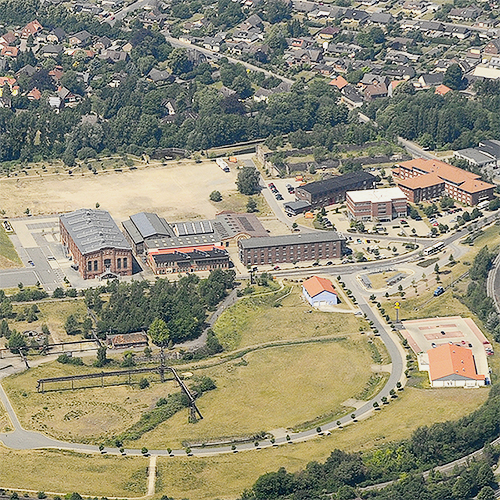 Gigapark Luftbild